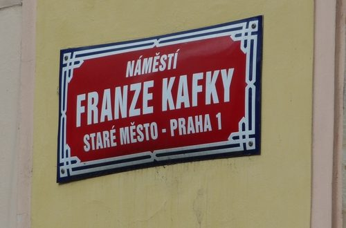 Kafka-Platz Prag