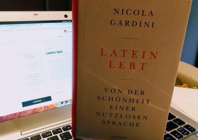 Latein lebt / Nicola Gardini