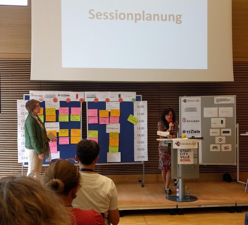 Sessionplanung mit U. Fuchs und U. Lange