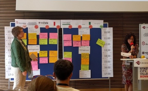 Sessionplanung Literaturcamp Bonn 2018