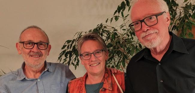Neil Richards, ich und Matt Costello © e_mager