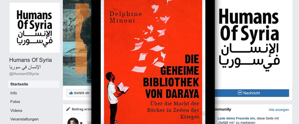 """Delphine Minoui """"Die geheime Bibliothek von Daraya"""" Benevento 2018"""