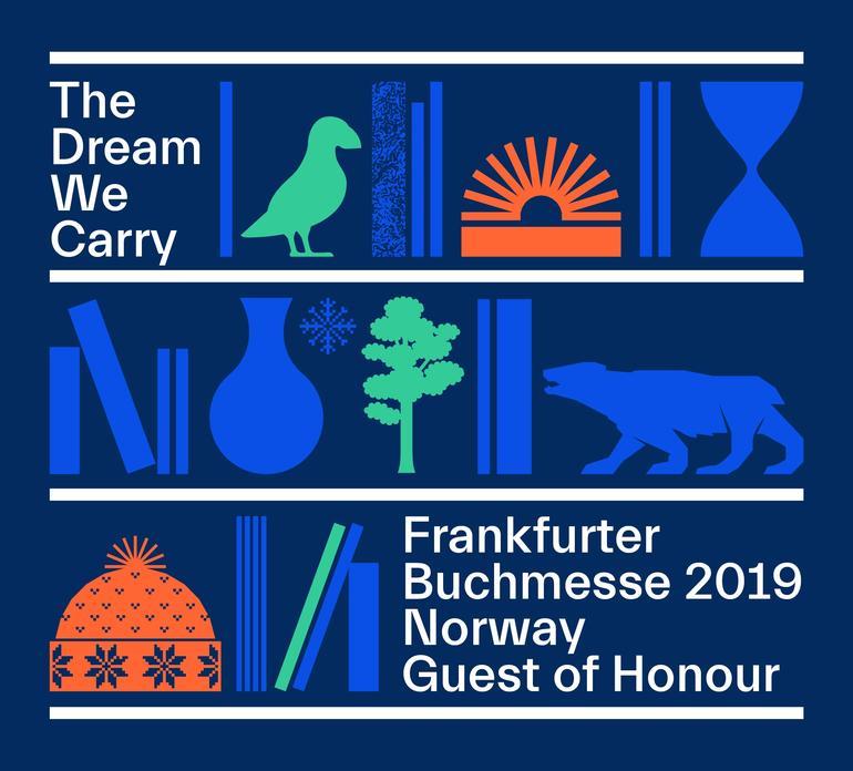 """""""The dream we carry"""" - Ehrengast Norwegen - Frankfurter Buchmesse 2019"""